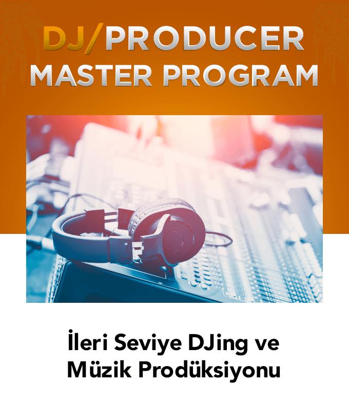 İleri seviye DJ ve Dans müzik prodüksiyon eğitimi (46 Saat)