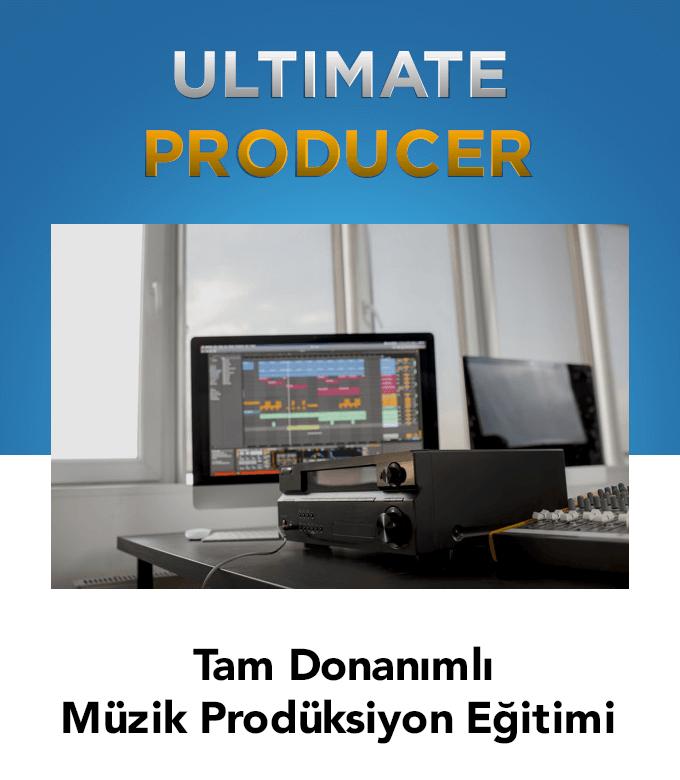 tam donanımlı elektronik müzik prodüksiyonu Eğitimi (42 Saat)